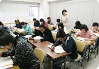 Class scene of advancement course