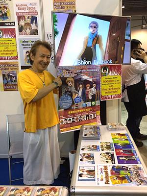 CDやポスター、ポストカードなどの販売!