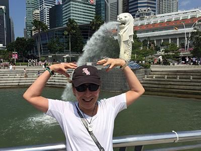 シンガポールのシンボル「マーライオン」