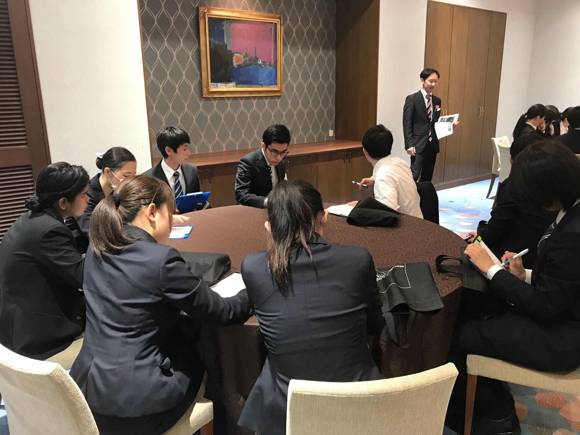 ホテルのお仕事体験&ホテル見学 image1