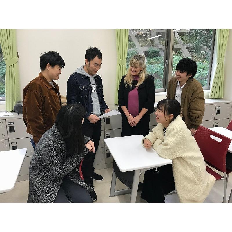 学生生活で国際感覚が身につく