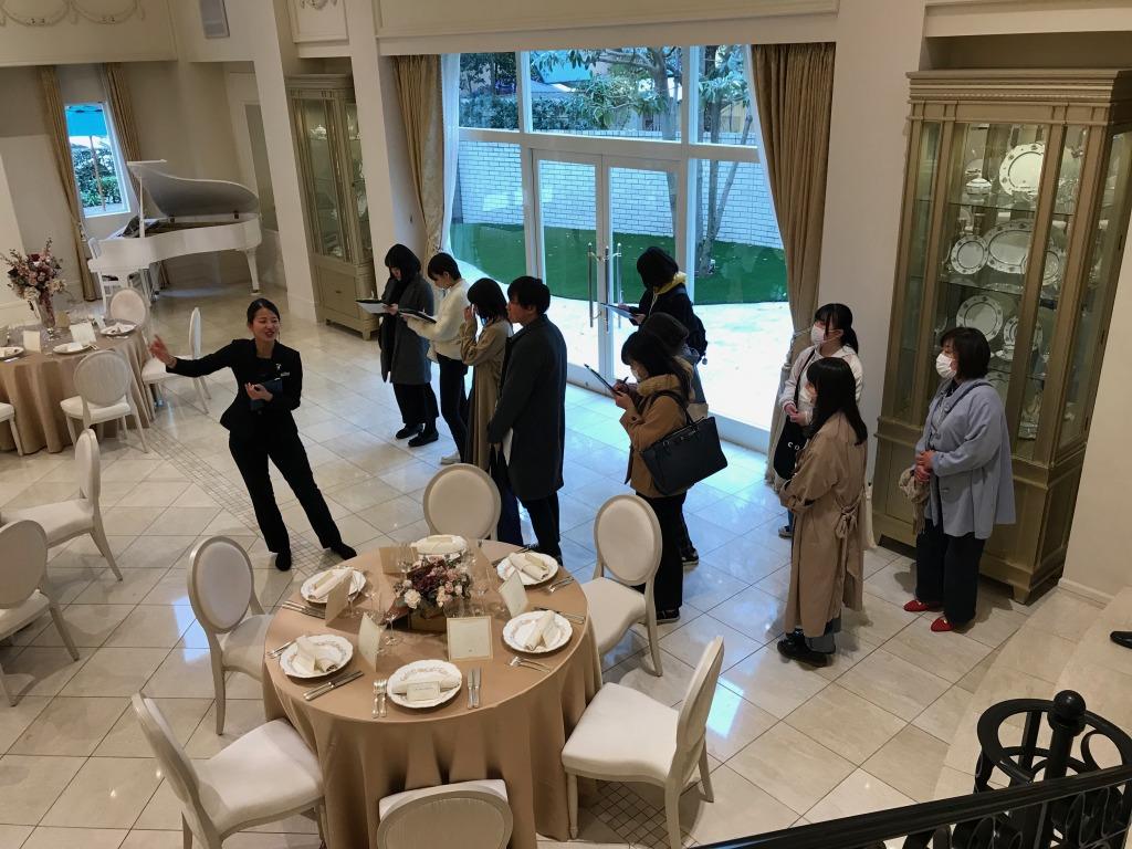 ブライダルのお仕事見学ツアー  アニヴェルセル神戸 3/25(水) image1