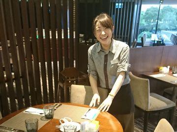 香港のホテルで実習