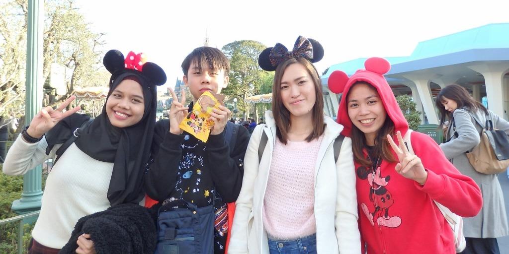 日本語学科校外学習ディズニーランド003