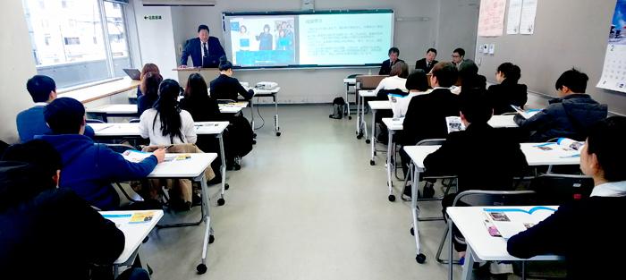 神奈川県中小企業家同友会様によるキャリアガイダンス特別授業