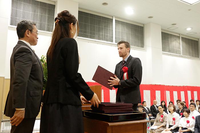 日本語学科・総合日本語科 卒業式