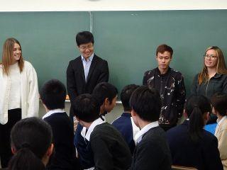 、高校生と留学生の交流授業001