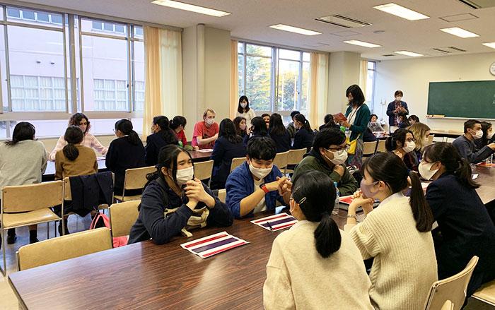 留学生による国際理解教育