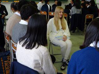 、高校生と留学生の交流授業003