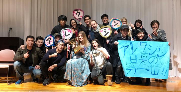 全国専門学校日本語学習外国人留学生日本語弁論大会