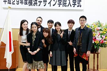 2017年度 日本語学科・総合日本語科の入学式を行いました