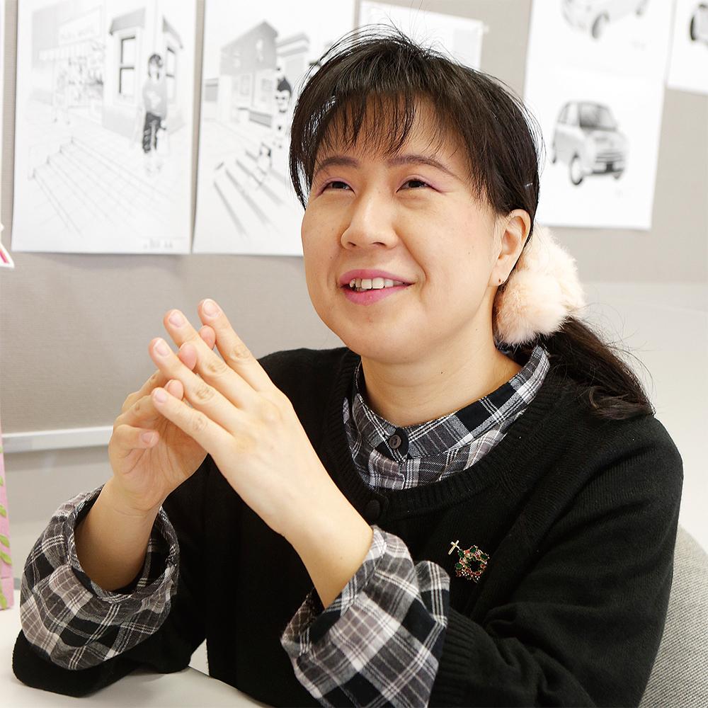 藤岡 由美 先生(マンガ専攻)