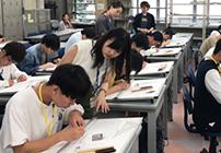 青山製図体験入学