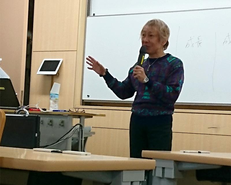 EC43において堀川りょうが招待講演を行いました!
