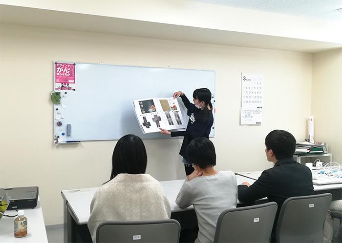 総合デザイン科 授業風景