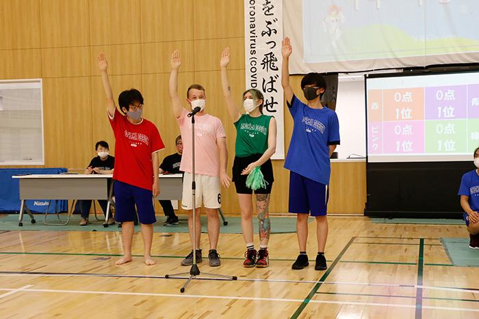 高等課程・専門課程・日本語学科合同体育祭