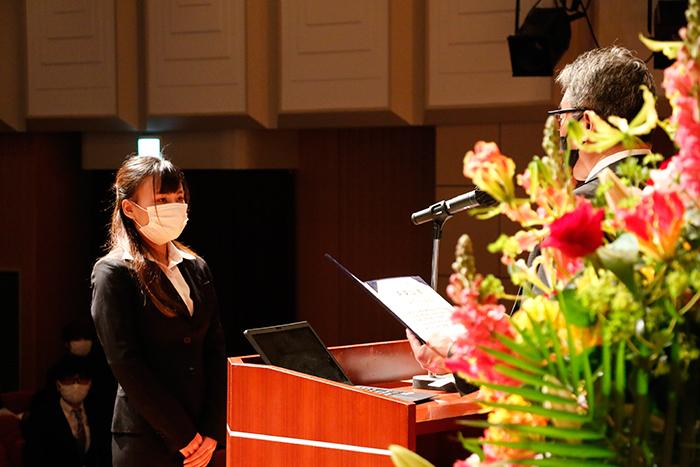 2020年度 高等課程及び専門課程合同卒業証書授与式を挙行いたしました