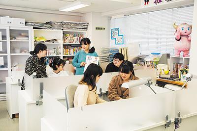 マンガ科実習室