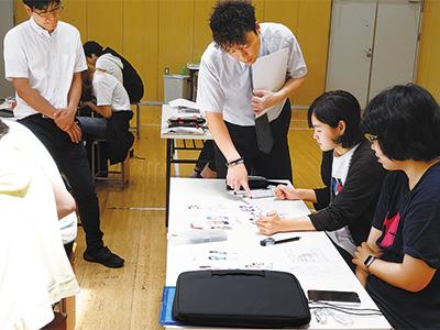 職業意識の向上を図る実践教育