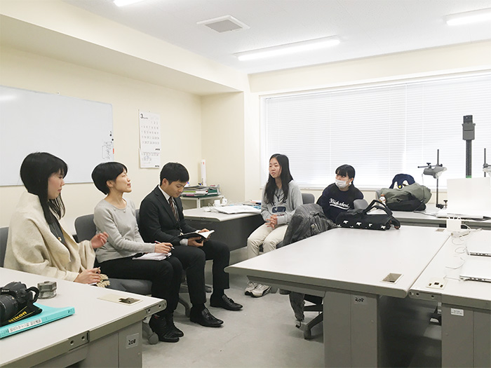 総合デザイン科 授業の様子